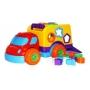 Brinquedo Educativo Carrinho Robustus Peças De Encaixar Babe