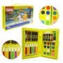 Maleta Infantil Kit Pintura Infantil Estojo Escolar 42 Pçs
