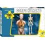 Quebra Cabeça Infantil Educativo Anatomia Humana Ciências