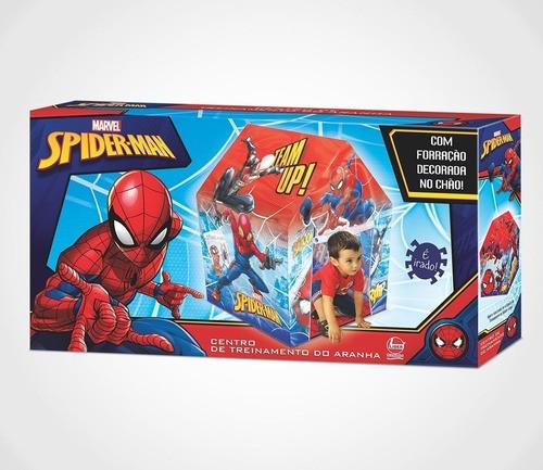 Barraca Infantil Homem Aranha Brinquedo Centro De Treinamento - Lider