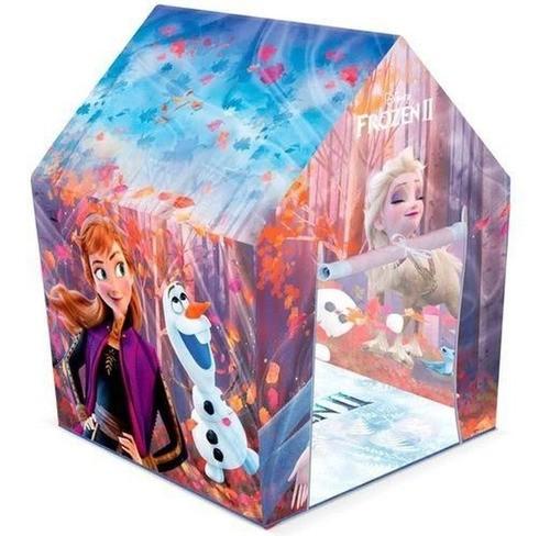 Barraca infantil Frozen Cabana Elsa e Ana castelo toca - Líder Brinquedo