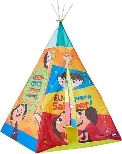 Barraca Infantil Show Da Luna Tenda Índio Castelo Brinquedo