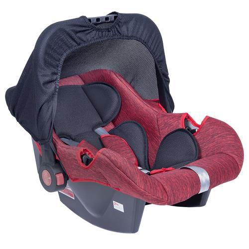 Bebê Conforto para recém nascidos até 12 meses Vermelho Mesclado