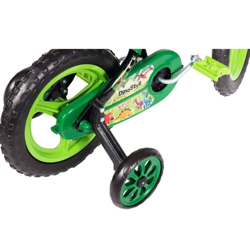 Bicicleta Infantil Aro 12 Com Rodinhas E Cestinha Meninos