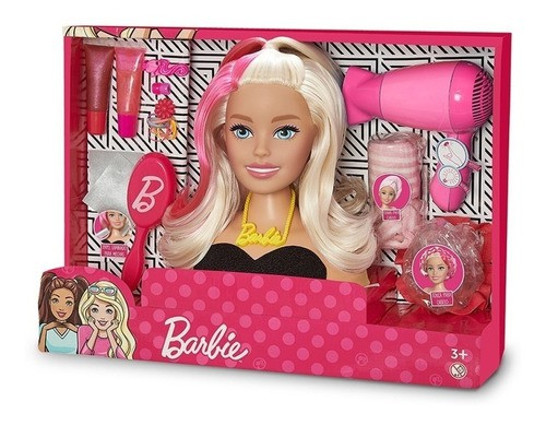 Boneca Barbie Styling Head Salão De Beleza Busto - Puppe