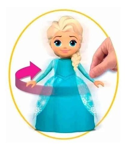 Boneca Elsa e Anna Frozen Musical Brinquedo com Frases - Elka