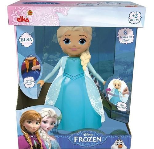 Boneca Elsa Musical Frozen Disney Brinquedo - Elka