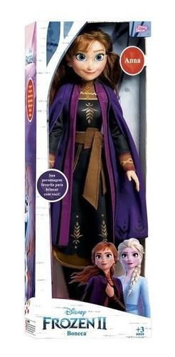 Boneca Frozen Elsa e Ana Kit Original 55cm - NovaBrink