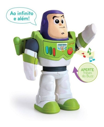 Boneco Buzz Lightyear Meu Amigo Buzz Brinquedo Toy Story Elka