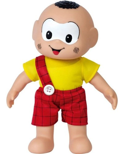 Boneco Cascão Turma Da Mônica Brinquedo Clássico Original