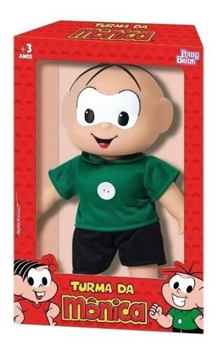 Boneco Cebolinha Turma Da Mônica Brinquedo Original