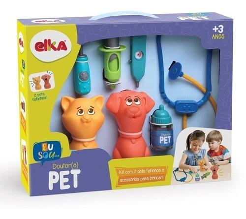 Brinquedo Brincando De Veterinário Doutor Pet - Elka