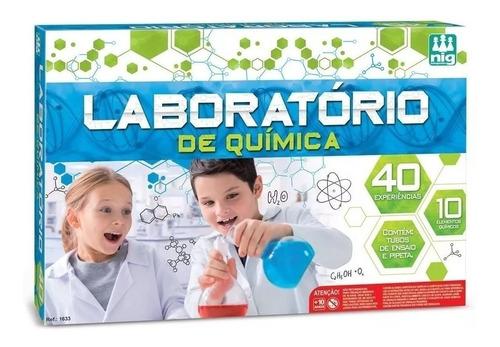 Brinquedo Educativo Laboratório De Química 40 Experiências