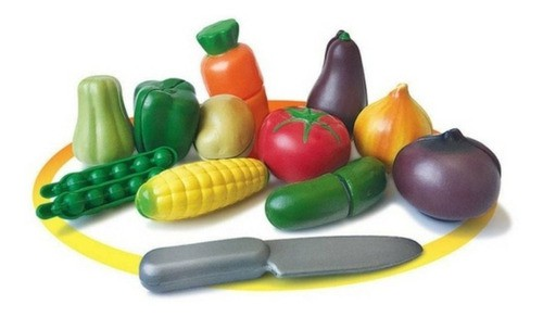 Brinquedo Infantil Feirinha Orgânica Legumes Crec Crec