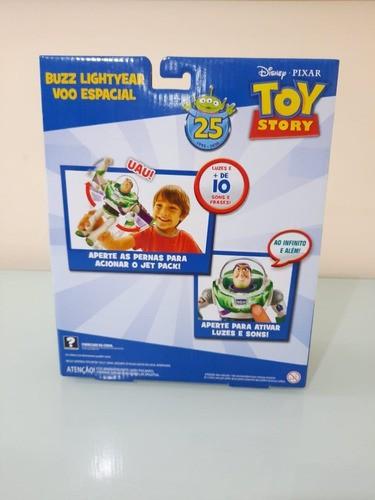 Buzz Lightyear Brinquedo Toy Story Original Mattel