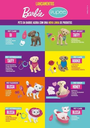 Cachorro Da Barbie Brinquedo Pet Shop Taff Honey Banheira