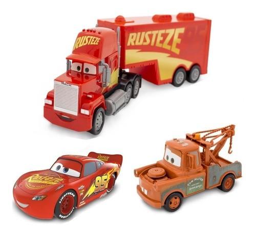 Carreta Do Relâmpago Macqueen Mate Kit Carros Brinquedos