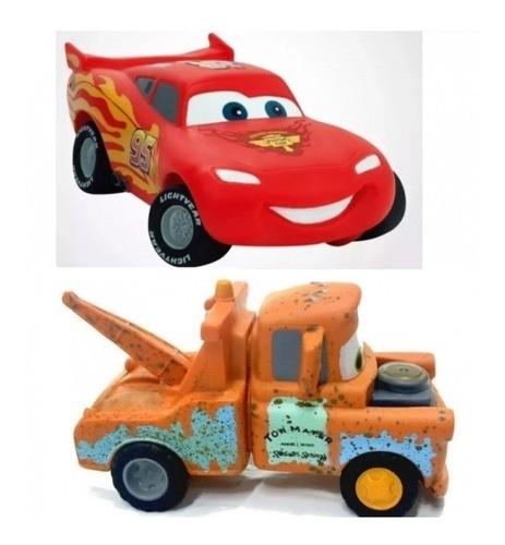 Carrinho Relâmpago Mcqueen e Mate Brinquedo Disney Carros - Lider