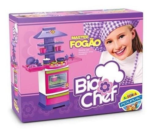 Cozinha Infantil Brinquedo Panelinha Pratinho Master Chef