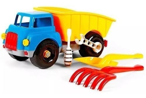 Ferramentas Infantil Brinquedo Educativo Caminhão Desmontar