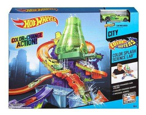 Hot Wheels Pista Estação Cientifica Mattel