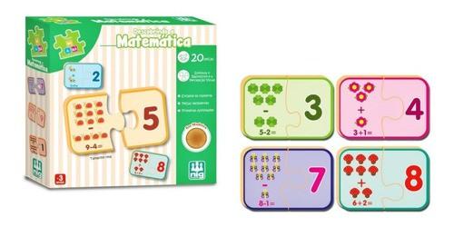 Jogo Educativo Descobrindo A Matemática Brinquedo Pedagógico