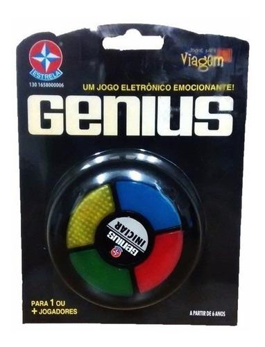 Jogo Genius Para Viagem Brinquedo Clássico Estrela