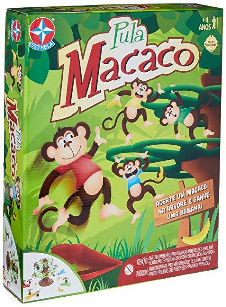 Pula Macaco Jogo Para Crianças - Estrela