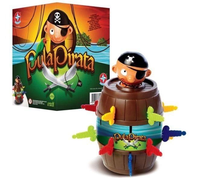 Jogo Pula Pirata para Crianças - Estrela