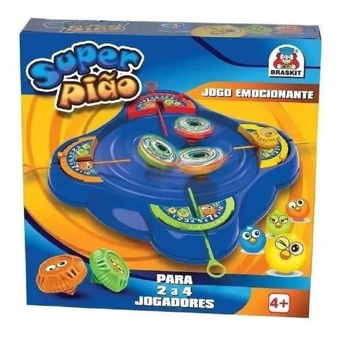 Jogo Super Pião Brinquedo Arena Braskit