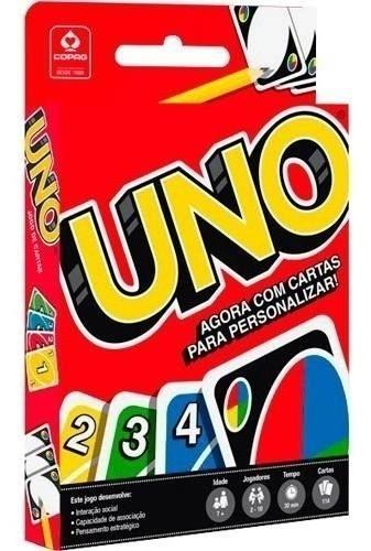 Jogo Uno De Cartas Original - Copag
