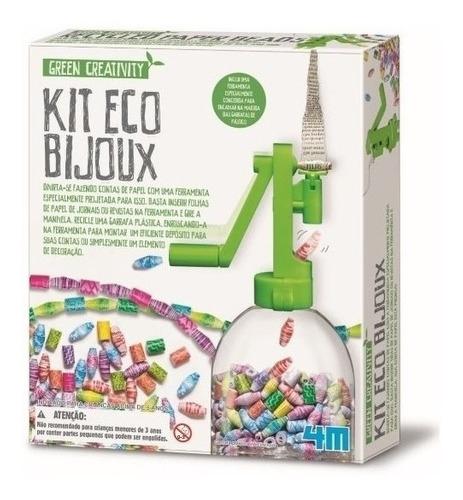 Kit De Eco Bijoux Brinquedo Educativo Bijuteria Infantil 4m