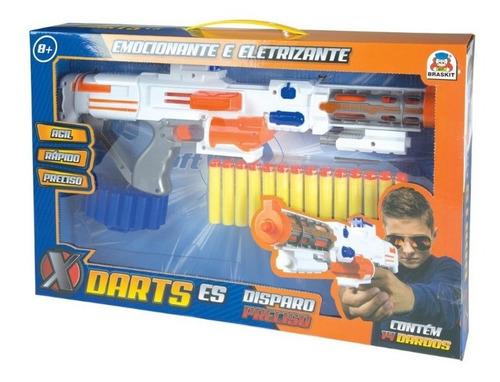 Lançador De Dardos Brinquedo X Darts ES Braskit
