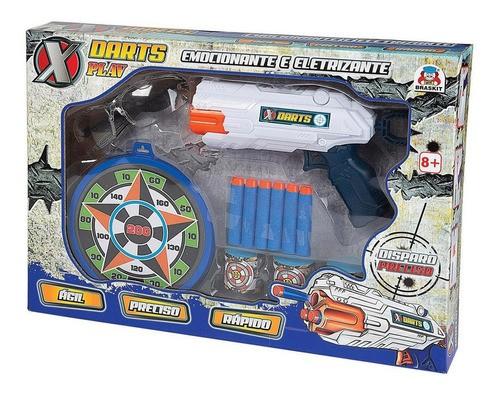 Lançador de Dardos De Borracha Arminha De Brinquedo