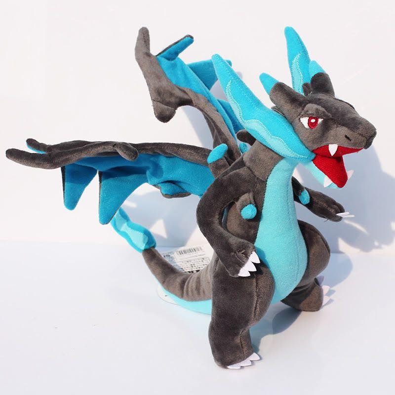 Charizard  Pokemon X Azul articulado Pokemon Pelúcia