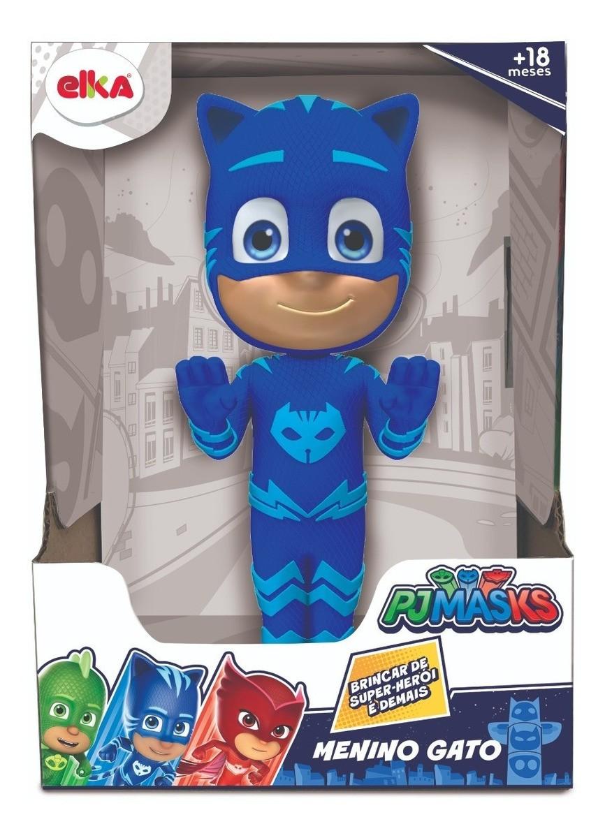 Menino Gato Boneco PJ Masks Gigante Articulado - Elka