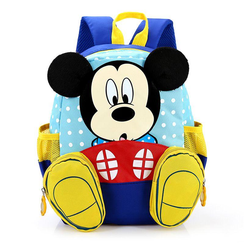 Mochila Infantil Mickey Mouse Bolsa Criança