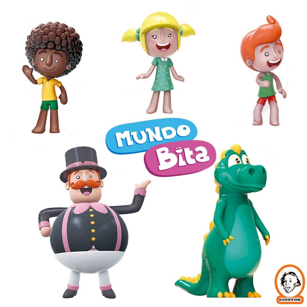Mundo Bita personagens de Brinquedo - Líder Brinquedos