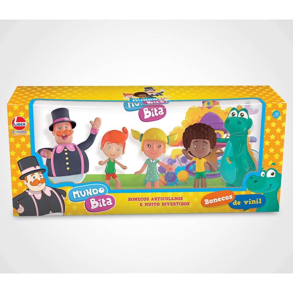 Mundo Bita Bonecos De Brinquedo - Lider