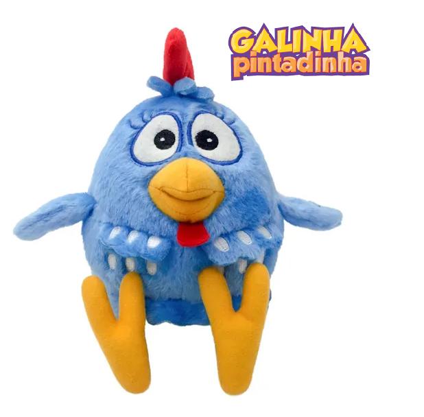 Pelúcia Galinha Pintadinha Original Brinquedo Pelúcia