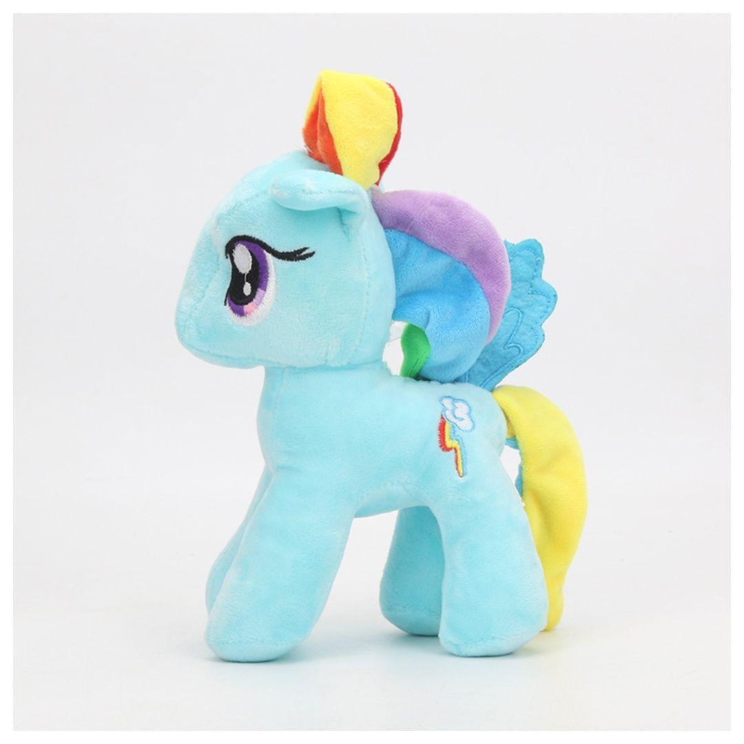 Pelúcia Pônei Azul Arco Íris My Little Pony Rainbow Dash