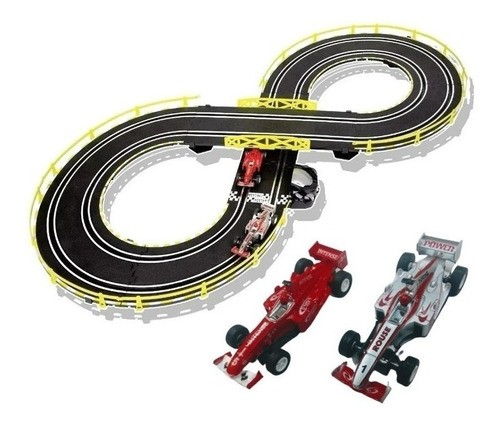 Autorama Pista de carrinhos Brinquedo Fórmula Super