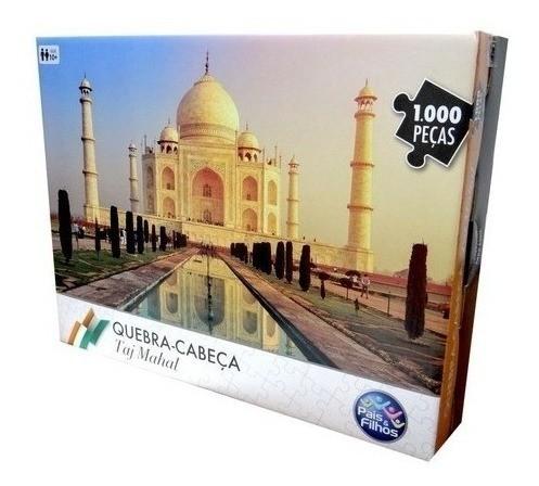 Quebra Cabeça 1000 Peças Taj Mahal - Pais e Filhos