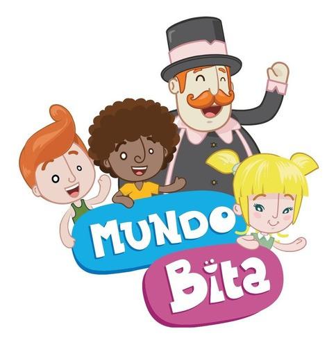 Quebra Cabeça Infantil O Mundo Bita Brinquedo Madeira 3d