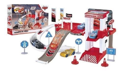 Relâmpago Mcqueen Cruz Ramirez Garagem Brinquedos Carros