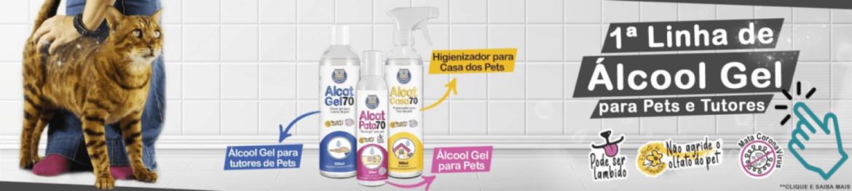 Alcool 70 para Pets
