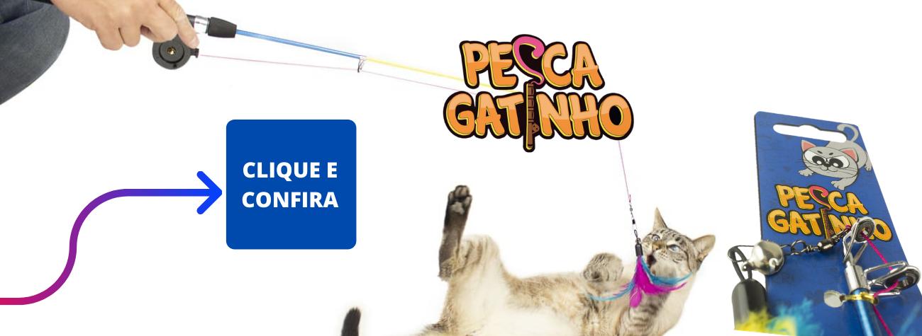Varinha para Gatos Pesca Gatinhos CatMyPet