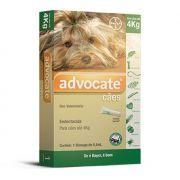 Antipulgas Bayer Advocate para Cães de até 4kg