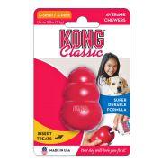 Brinquedo Interativo Kong Classic Dispenser para Ração ou Petisco - Vermelho