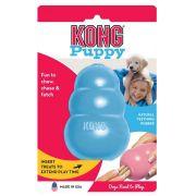 Brinquedo Interativo Kong Puppy Cães Filhotes Azul Médio